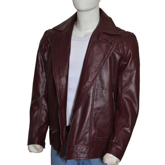 Edge WWE Return Brown Leather Jacket