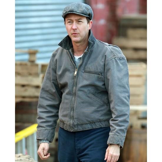 Edward Norton Motherless Brooklyn Denim Jacket