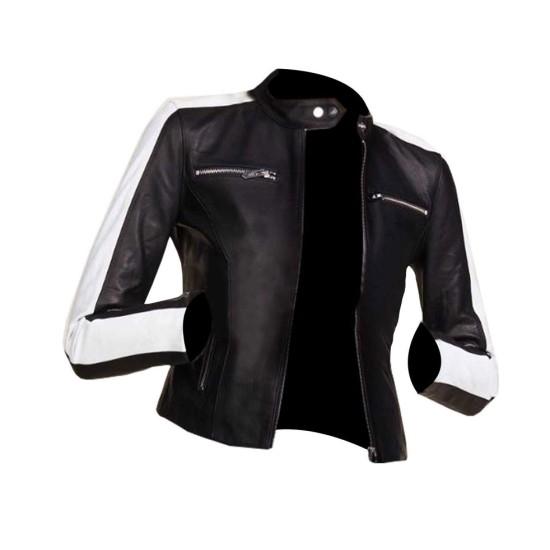 Eiza González Godzilla Vs. Kong Biker Leather Jacket