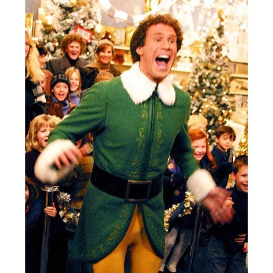 Elf Will Ferrell Christmas Coat