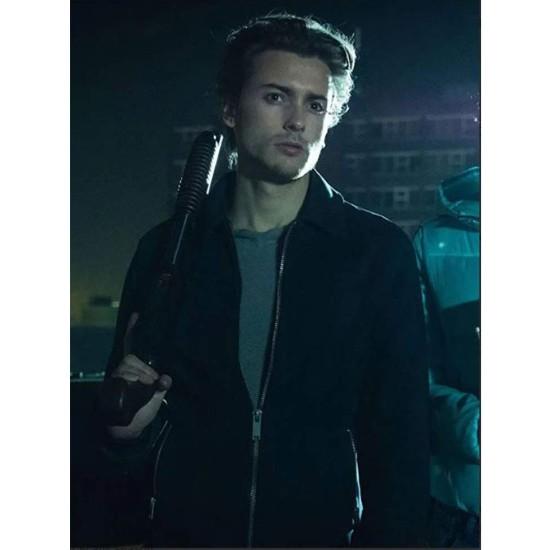 Elijah Rowen Curfew Black Jacket