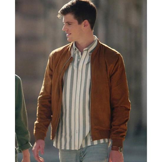 Elite Miguel Bernardeau Suede Leather Jacket