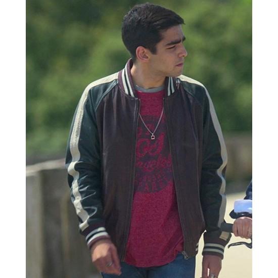Elite Omar Ayuso Varsity Leather Jacket