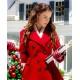Christmas At Pemberley Manor Jessica Lowndes Wool Coat
