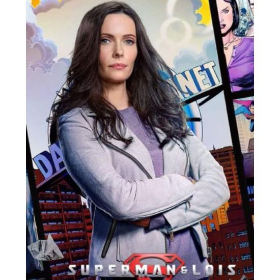 Elizabeth Tulloch Superman and Lois Suede Jacket