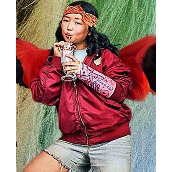 Ella Jay Basco Birds of Prey Red Jacket