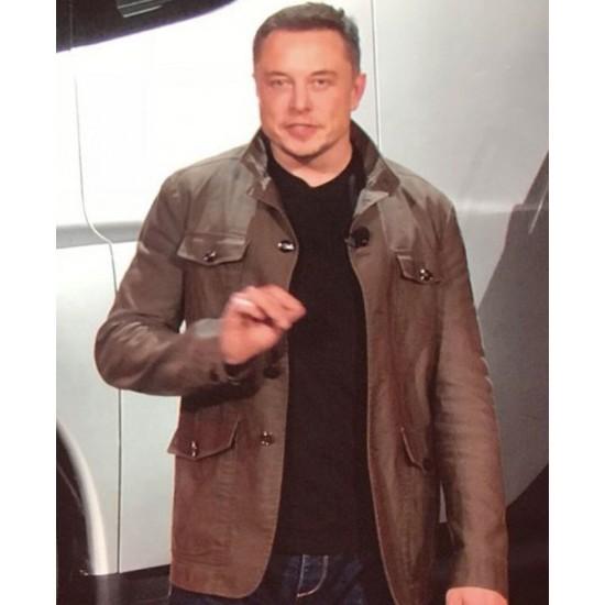 Elon Musk's Green Jacket