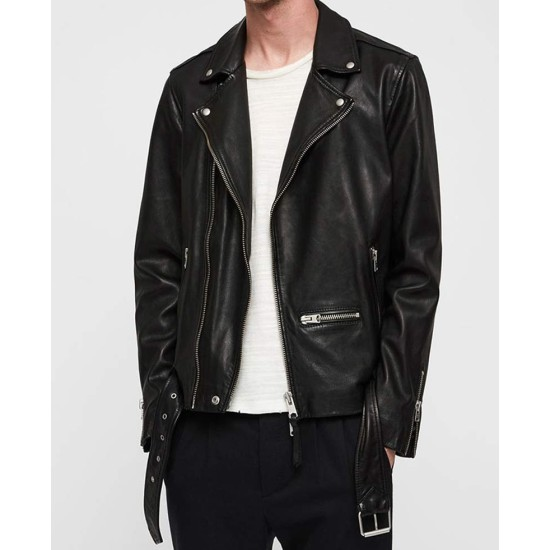 Elseworlds The Flash Grant Gustin Black Leather Jacket