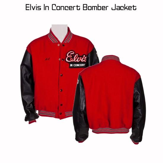 Elvis In Concert Bomber Jacket