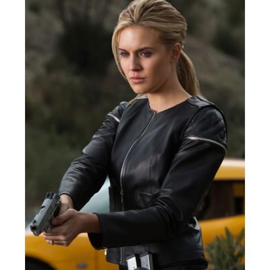 Emilie Warnock Lockout Maggie Grace Leather Jacket