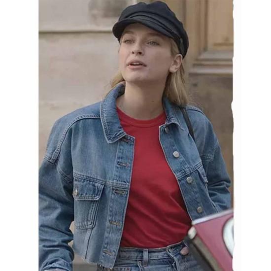 Camille Razat Emily in Paris Denim Jacket