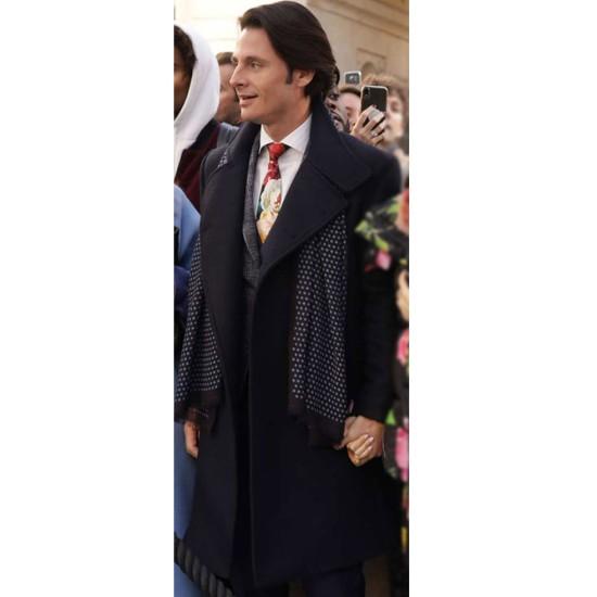 Emily in Paris Charles Martins Wool Coat