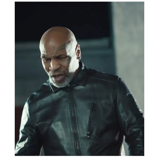 Eminem Mike Tyson Leather Jacket