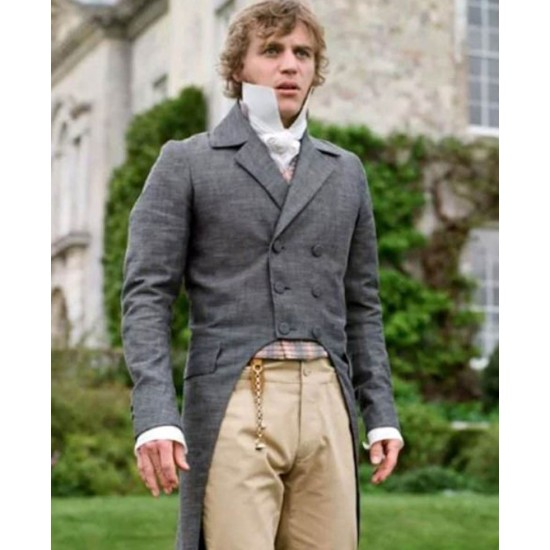 Johnny Flynn Emma Double Breasted Tailcoat