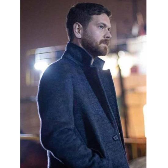 Engin Ozturk 50M2 Grey Wool Coat
