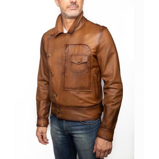 Leonardo Dicaprio The Aviator Leather Jacket