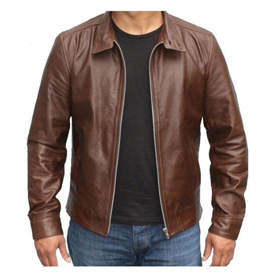 Erik Lehnsherr X Men First Class Leather Jacket