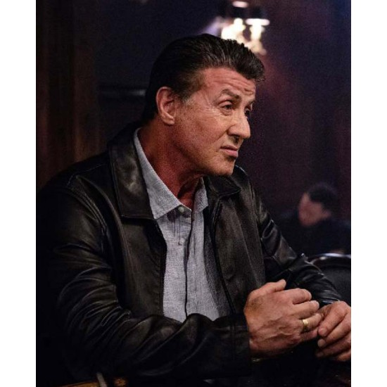 Escape Plan 2 Hades Sylvester Stallone Leather Jacket