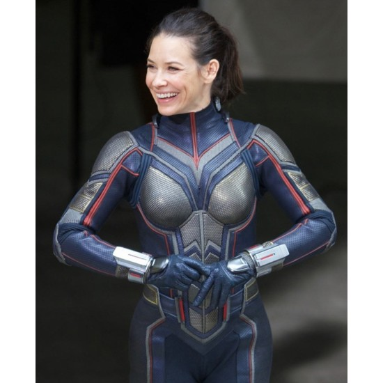 Evangeline Lilly Wasp Leather Jacket