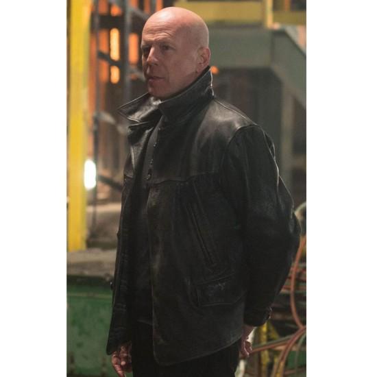 Extraction Bruce Willis Jacket Leonard Turner Leather Jacket Films Jackets
