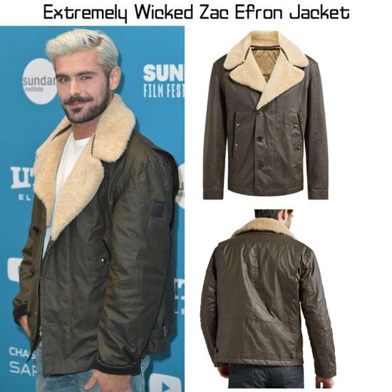 Extremely Wicked Zac Efron Jacket