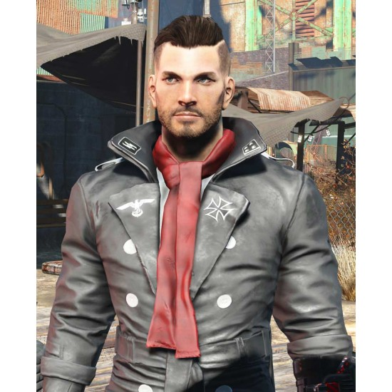 Fallout 4 Airship Captain's Leather Jacket