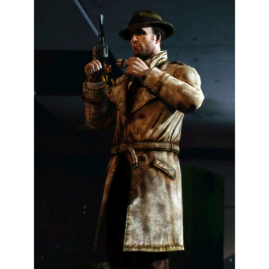 Fallout 4 Mysterious Stranger Belted Coat