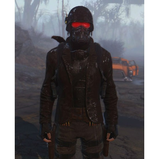 Fallout 4 Scavenged NCR Armor Leather Blazer