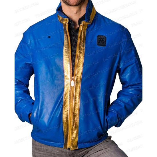 Fallout 76 Vault Leather Jacket