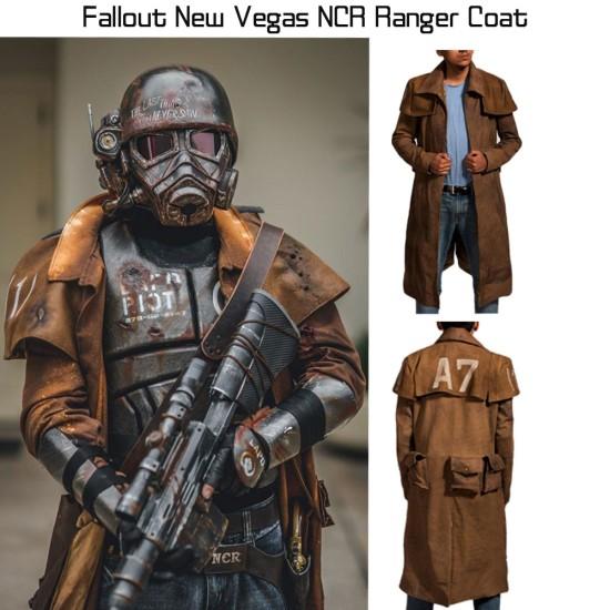 Fallout New Vegas NCR Veteran Ranger Duster Coat