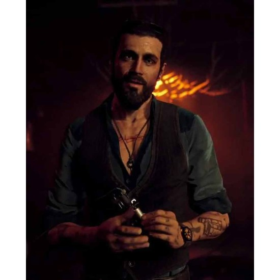 Far Cry 5 John Seed Brown Vest