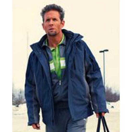 Glenn Howerton Fargo Blue Cotton Jacket