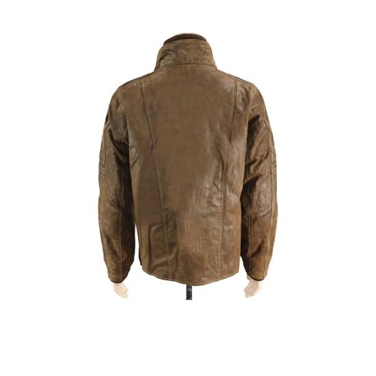 Ewan Mcgregor Fargo Brown Leather Jacket