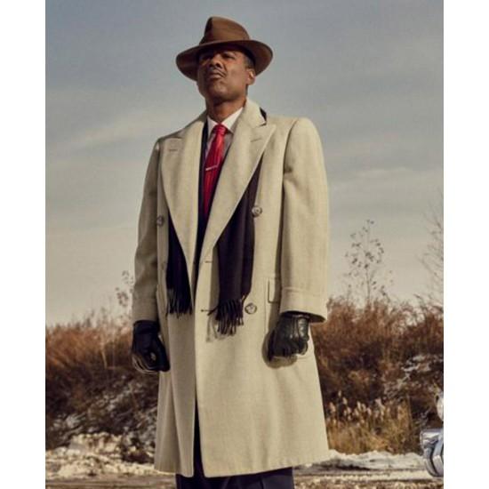 Chris Rock Fargo Season 04 Double Breasted Coat