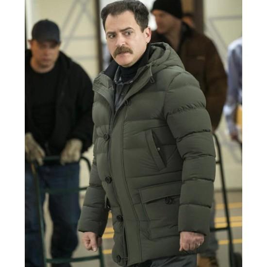 Fargo Michael Stuhlbarg Black Puffer Jacket
