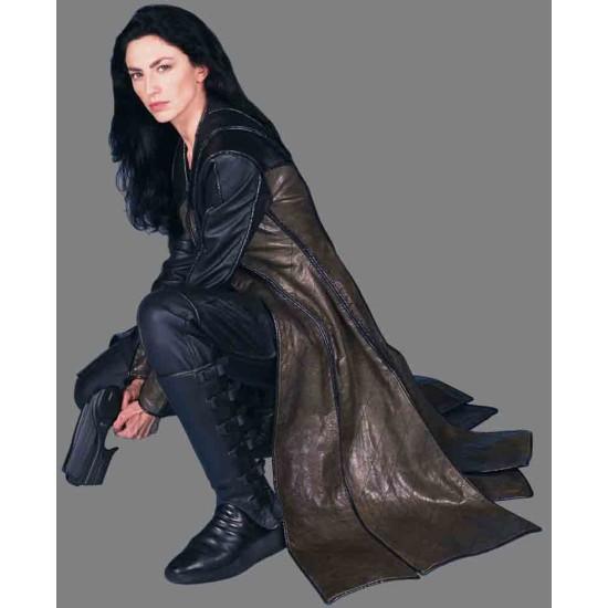 Farscape Claudia Black Leather Coat
