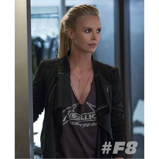 Charlize Theron Fast and Furious 8 Jacket