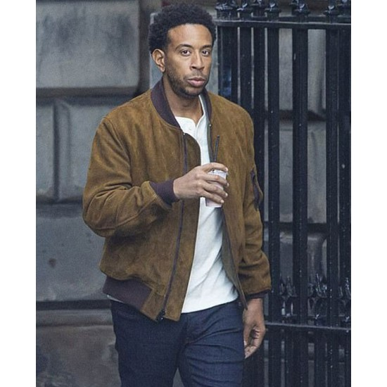 Fast and Furious 9 Ludacris Suede Brown Jacket