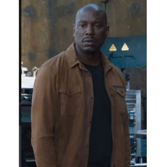 Fast & Furious 9 Tyrese Gibson Cotton Brown Jacket