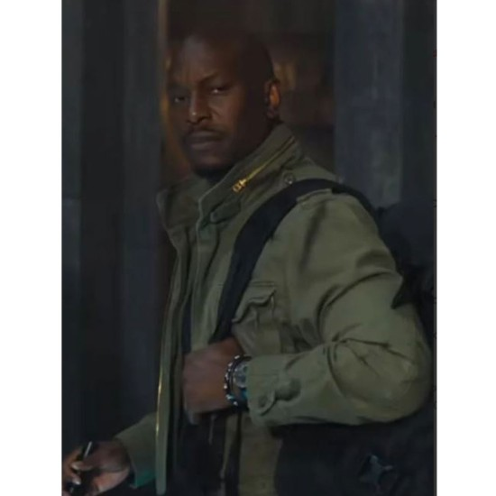 Fast & Furious 9 Tyrese Gibson Green Cotton Jacket
