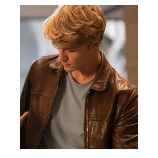 Danny Griffin Fate The Winx Saga Leather Jacket