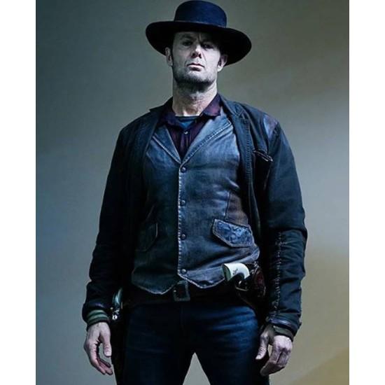 Fear The Walking Dead Garret Dillahunt Leather Vest