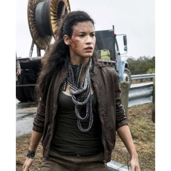 Danay Garcia Fear The Walking Dead Season 04 Jacket