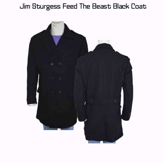 Feed The Beast Jim Sturgess Black Coat