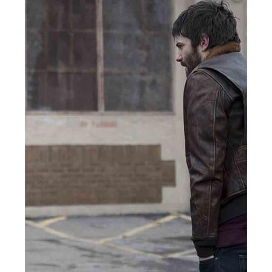 Feed The Beast Jim Sturgess Brown Leather Jacket