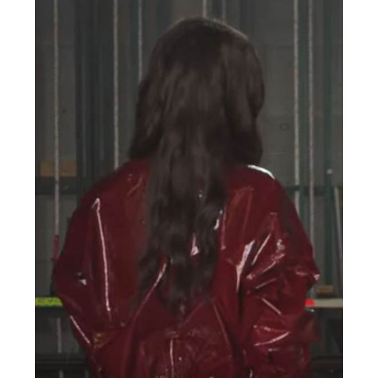 Feel the Beat Film Sofia Carson PVC Jacket