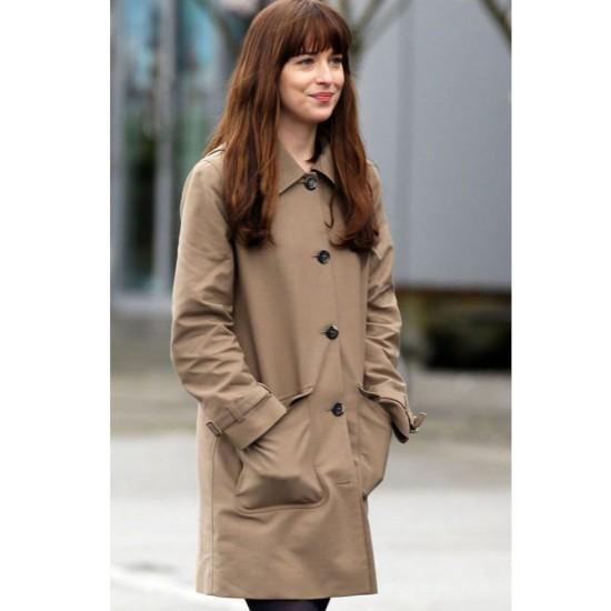Fifty Shades Darker Anastasia Steele Coat