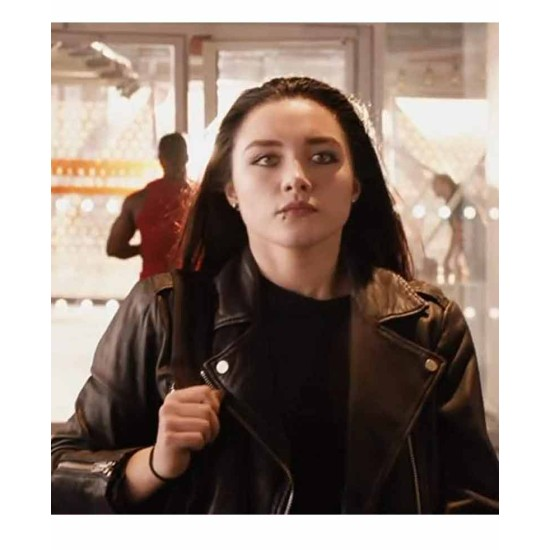 Fighting With My Family Florence Pugh Leather Jacket
