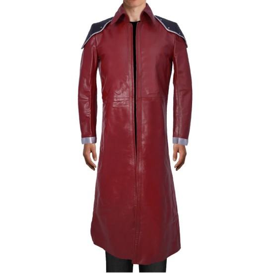 Final Fantasy Genesis Rhapsodos Trench Leather Coat