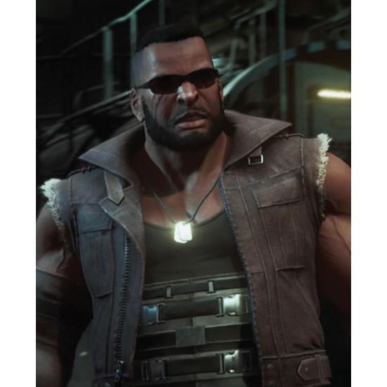 Final Fantasy 7 Barret Wallace Brown Vest